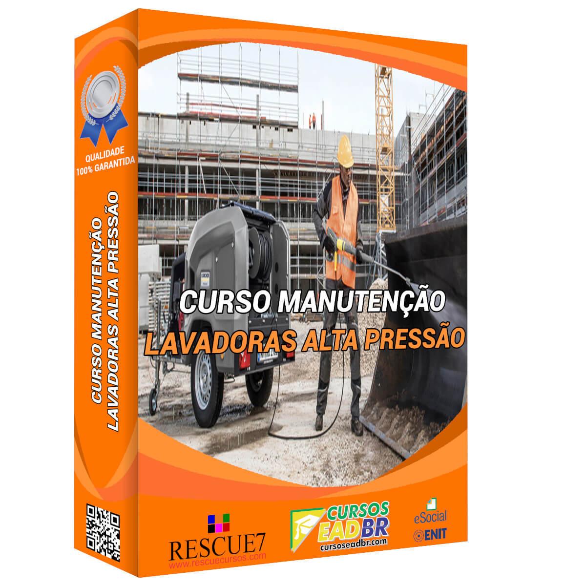 Curso Manutenção Lavadoras de Alta Pressão | EAD | Ao Vivo | Presencial | Online | 111121