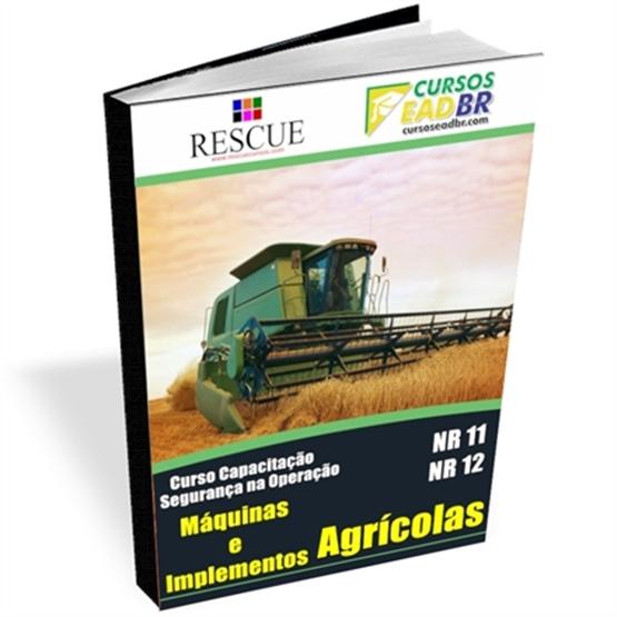 Curso de Máquinas e Implementos Agrícolas NR-11 e NR-12 | EAD | Ao Vivo | Presencial | Online | 4777