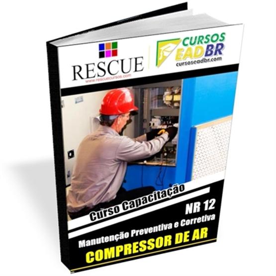 Curso Manutenção Preventiva Corretiva Compressor Ar | EAD | Ao Vivo | Presencial | Online | 56378
