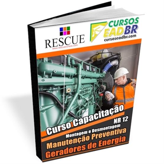 Curso Desmontagem, Manutenção Preventiva Montagem Geradores Energia | EAD | Ao Vivo | Presencial | Online | 56313