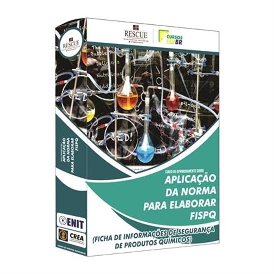 Curso de Aprimoramento sobre Aplicação da Norma para Elaborar FISPQ (Ficha de Informações de Segurança de Produtos Químicos)