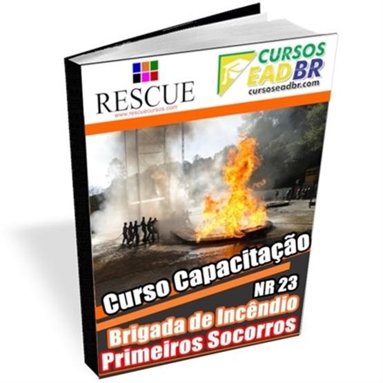 Curso Brigada Incêndio e Primeiros Socorros | EAD | Ao Vivo | Presencial | Online | 1741