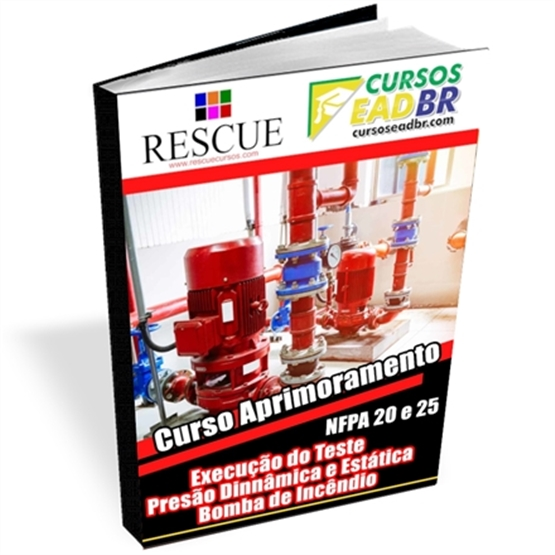 Curso Teste Pressão Bomba Incêndio NFPA 20 e 25  |EAD | Ao Vivo | Presencial | Online | 123999