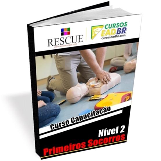 Curso Capacitação Primeiros Socorros Nível 2 | EAD | Ao Vivo | Presencial | Online | 393