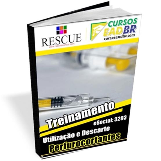3203 - Treinamento em Utilização Descarte de Perfurocortantes |EAD | Ao Vivo | Presencial | Online | 51294