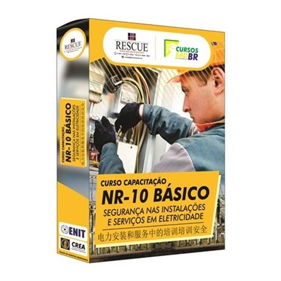Curso Capacitação NR 10 Básico  |  Segurança nas Instalações e Serviços com Eletricidade - EM MANDARIM
