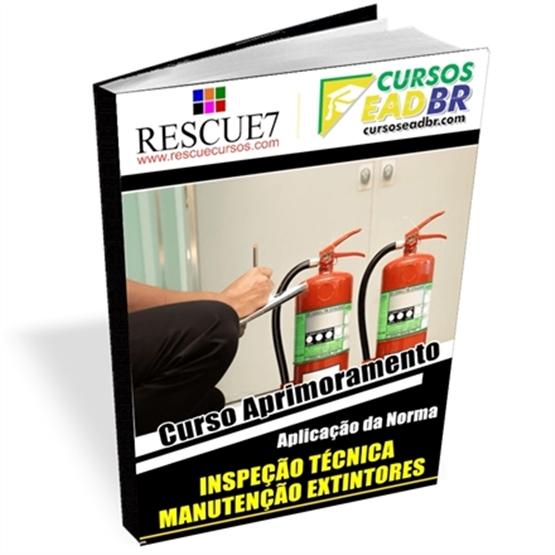 Curso Inspeção Técnica e Manutenção Extintores| EAD | Ao Vivo | Presencial | Online |74489