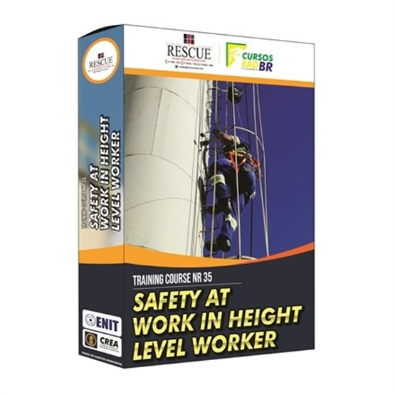 Curso Capacitação NR 35  |  Segurança nos Trabalhos em Altura - Nível Trabalhador - EM INGLÊS