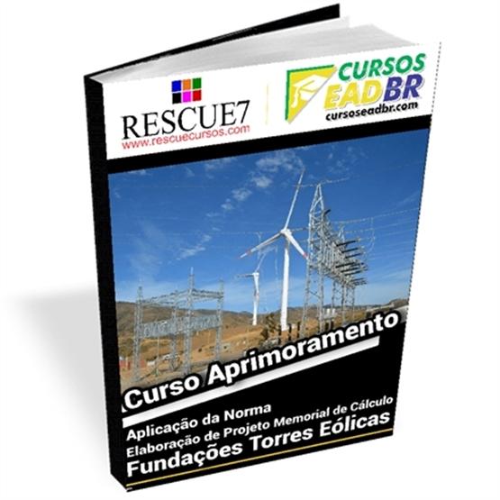 Curso Projeto Fundações Torres Eólicas | Treinamento | EAD | Presencial | Ao Vivo | 139989
