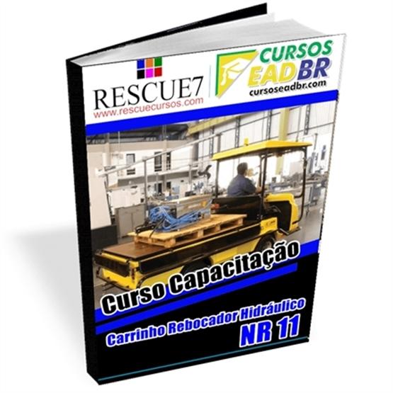 Curso Capacitação Carrinho Rebocador Hidráulico | EAD | Presencial | Online | Ao Vivo | 14766