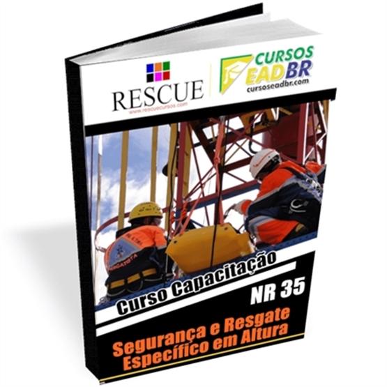 Curso Resgate Específico em Altura NR 35 | EAD | Ao Vivo | Presencial | Online | 13224