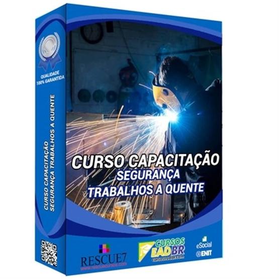 Curso Capacitação Básica Segurança Trabalhos a Quente | EAD | Presencial | Online | Ao Vivo | 87982