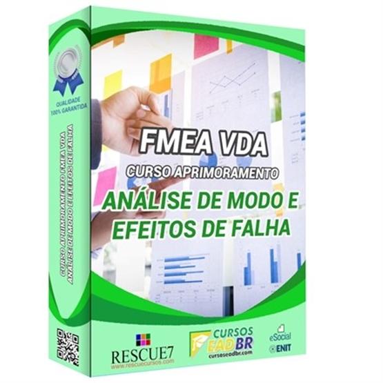 Curso Análise de Modo e Efeitos de Falha | EAD | Ao Vivo | Presencial | Online | 158162