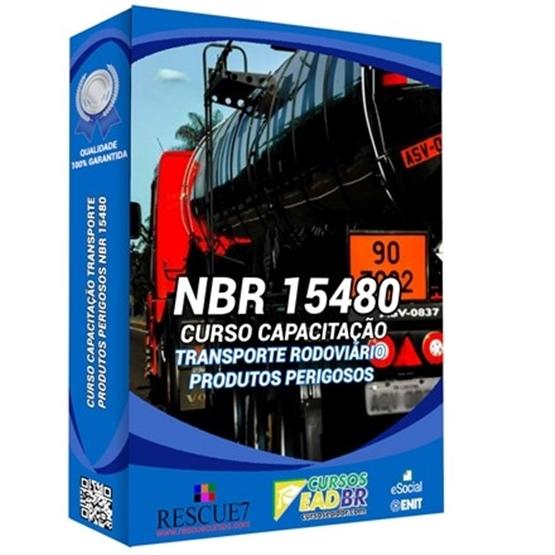 Curso Capacitação Transporte Rodoviário Produtos Perigosos NBR 15480 | EAD | Presencial | Online | Ao vivo | 16690