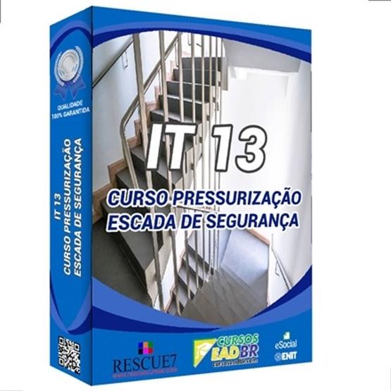 IT 13 – CURSO PRESSURIZAÇÃO ESCADA SEGURANÇA | EAD | Ao Vivo | 68616