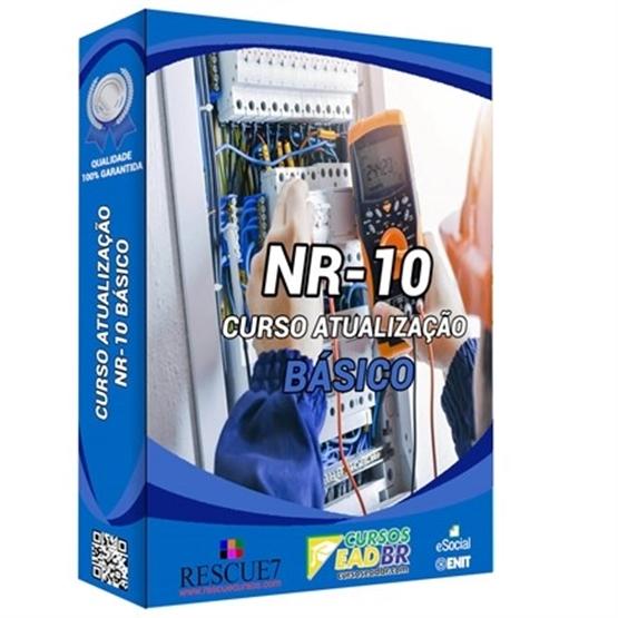 Curso Reciclagem NR 10 Básico| EAD | Ao Vivo | Presencial | Online | 978