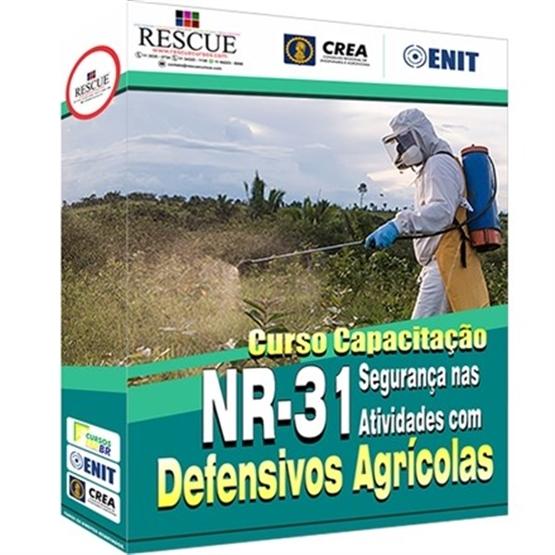 Curso Capacitação NR-31 Segurança nas Atividades com Defensivos Agrícolas