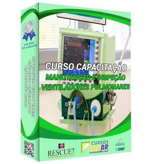 Curso Manutenção de Ventiladores Pulmonares | EAD | Ao Vivo | Presencial | Online | 102778