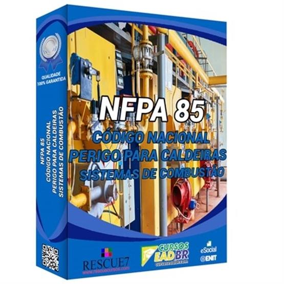 Curso Treinamento NFPA 85 | EAD | Ao Vivo | Presencial | Online | 86218