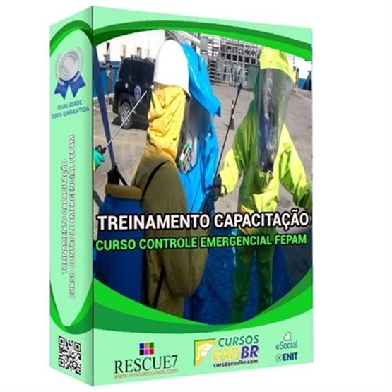 Curso de Controle Emergenciais e Riscos Ambientais FEPAM 82/2020  EAD   Ao Vivo   Presencial   Online   158935