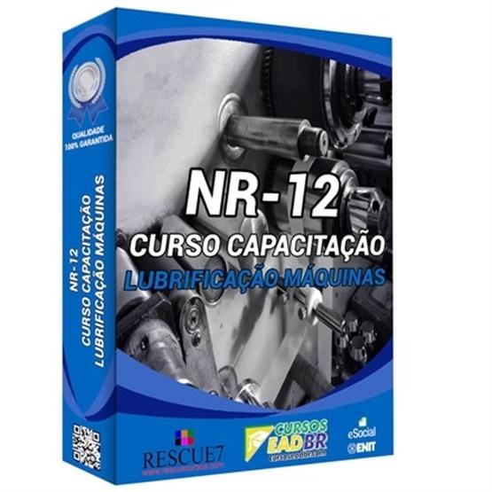 Curso Lubrificação Máquinas NR-12 | EAD | Ao Vivo | Presencial | Online | 1510