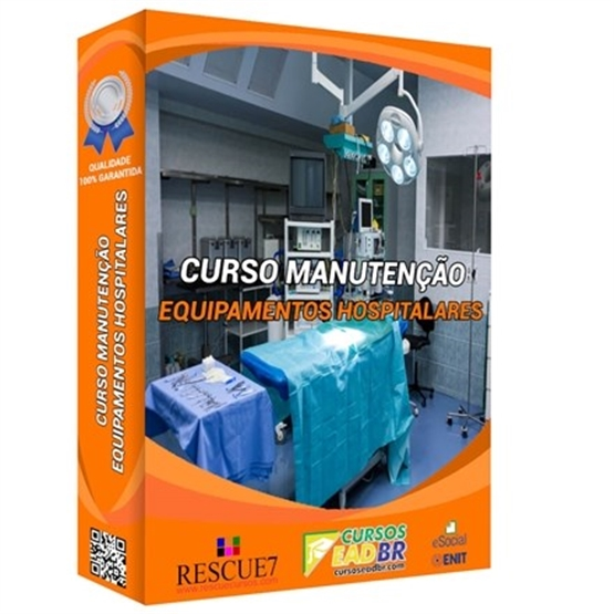 Curso Como Executar Manutenção em Equipamentos Hospitalares | EAD | Ao Vivo | Presencial | Online | 80022