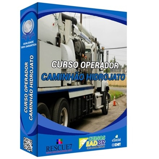 Curso Operador de Caminhão Hidrojato   EAD   Ao Vivo   Presencial   Online   13772