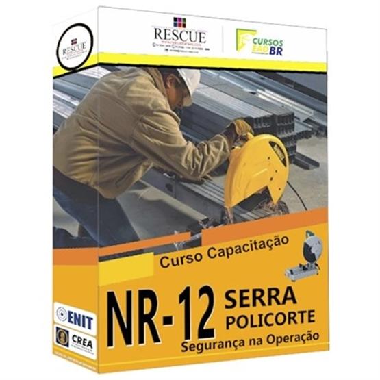 Capacitação NR-12 Segurança na Operação de Serra Policorte