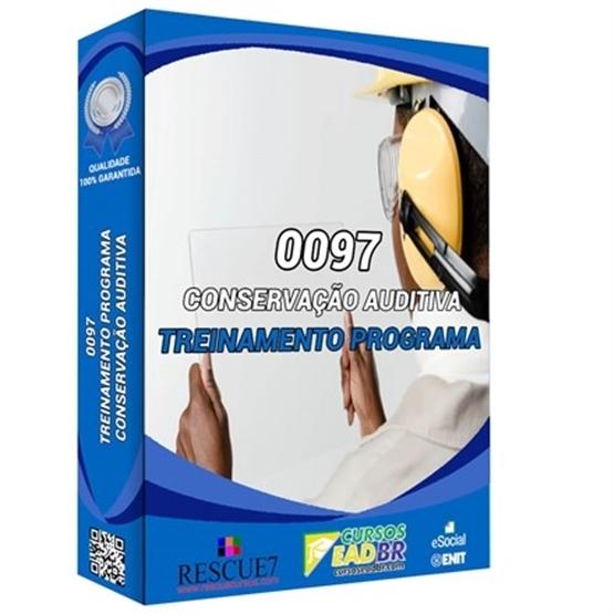 0097 – Treinamento do Programa de Conservação Auditiva   EAD   Ao Vivo   Presencial   Online   52539