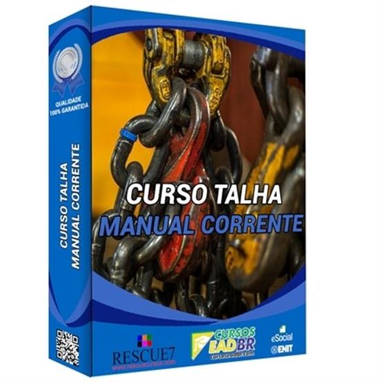 Curso Talha Manual de Corrente| EAD | Ao Vivo | Presencial | Online | 76996