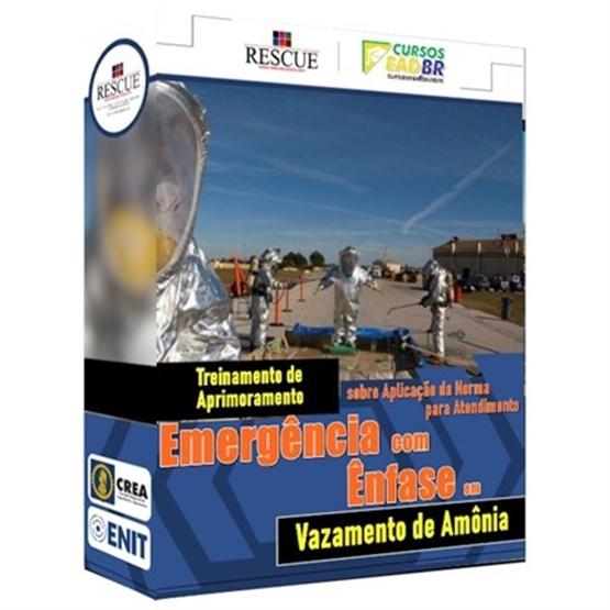 Curso Atendimento a Emergência e Vazamento de Amônia | EAD | Ao Vivo | Presencial | Online | 13255