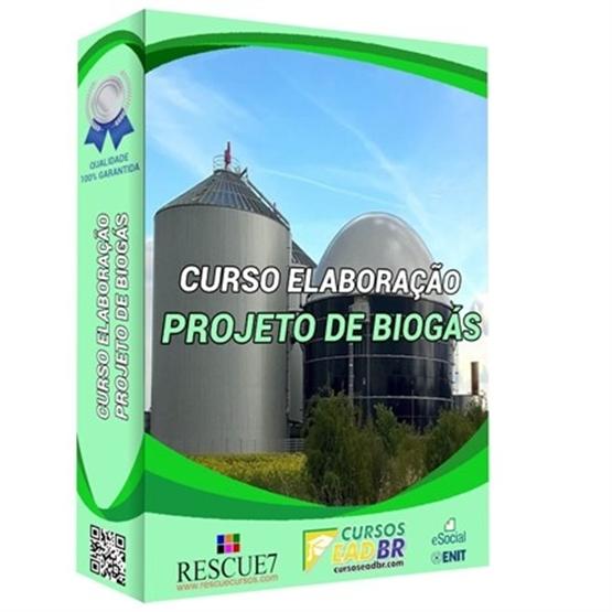 Curso Elaboração de Projeto de Biogás | EAD | Ao Vivo | Presencial | Online | 99339