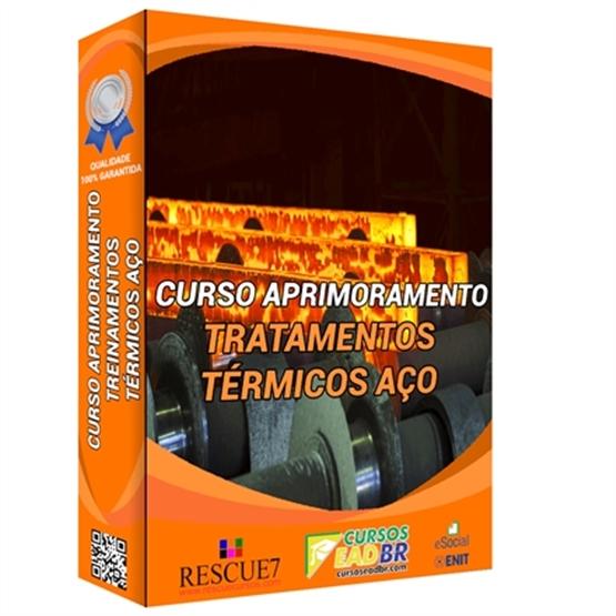 Curso Tratamentos Térmicos de Aço | EAD | Ao Vivo | Presencial | Online | 111651