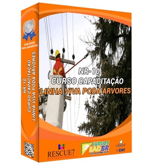 Curso NR 10 Linha Viva para Poda de Árvores | EAD | Ao Vivo | Presencial | Online | 61102