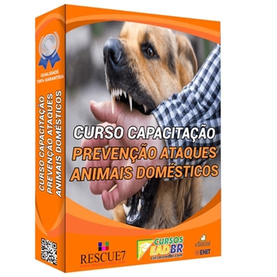 Curso Prevenção Ataque de Animais Domésticos | EAD | Ao Vivo | Presencial | Online | 119116