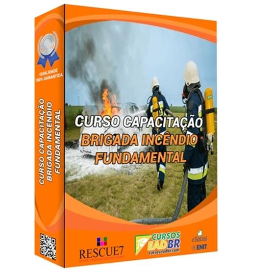 Curso Capacitação Brigada de Incêndio Nível Fundamental NBR 14276 | EAD | Ao Vivo | Presencial | Online | 143509