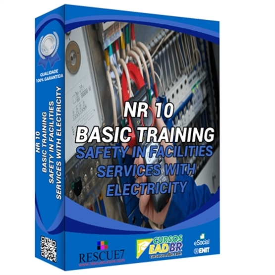 NR 10 Basic Training - Safety in Facilities and Services with Electricity | E-Learning | Live | On-site | Online | 10036