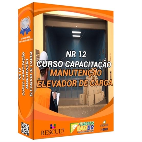 Curso Manutenção de Elevador de Carga | EAD | Ao Vivo | Presencial | Online | 73869
