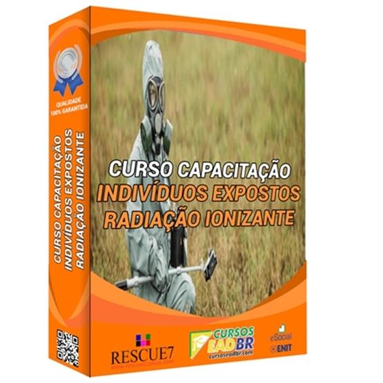 Curso para Indivíduos Ocupacionalmente Expostos à Radiação Ionizante| EAD | Ao Vivo | Presencial | Online | 38956
