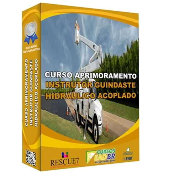 Curso Instrutor Guindaste Hidráulico Acoplado | EAD | Ao Vivo | Presencial | Online | 162532