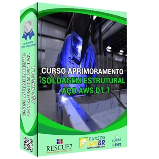 Curso Código Soldagem Estrutural-Aço AWS D1.1 | EAD | Ao Vivo | Presencial | Online | 156633