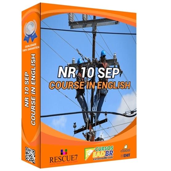 NR 10 SEP Course in English | EAD | Ao Vivo | Presencial | Online | 10714