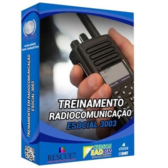 3003 - Treinamento em Radiocomunicação | EAD | Presencial | eSocial | 51907