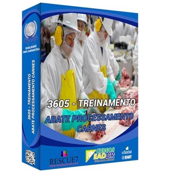3605 - Treinamento Eventual na Indústria de Abate e Processamento de Carnes e Derivados | EAD | Ao Vivo | Presencial | Online | 52454