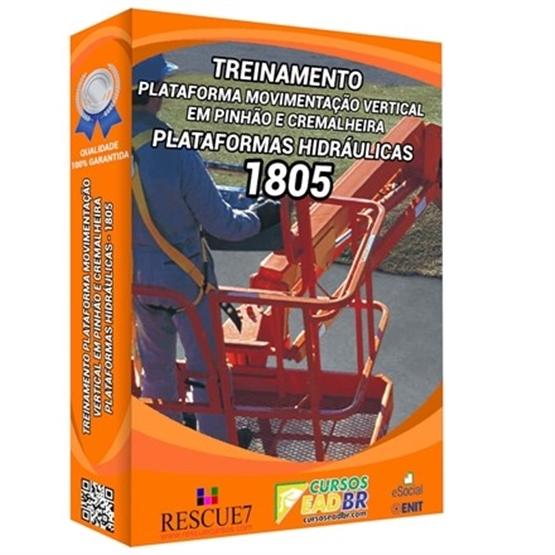 Treinamento Plataforma Movimentação Vertical | Curso | EAD | Presencial | 51544