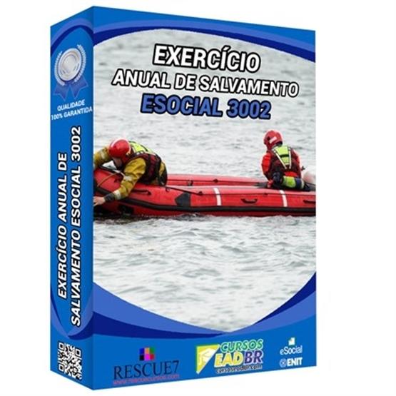 3002 - Exercício Anual de Salvamento | Treinamento | EAD | Presencial | 64550