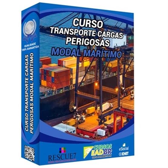 Curso Transporte Cargas Marítimo   Treinamento   EAD   Presencial   166446
