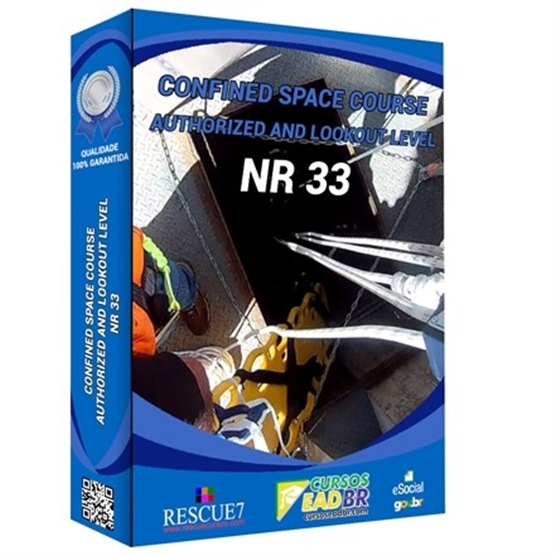 Authorized Confined Space and Watchman NR 33 course in English   E-Learning   Live   On-site   Online   10755