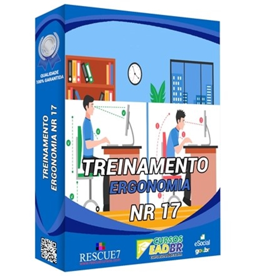 Treinamento NR 17 Ergonomia |EAD | Ao Vivo | Presencial | Online | 55906