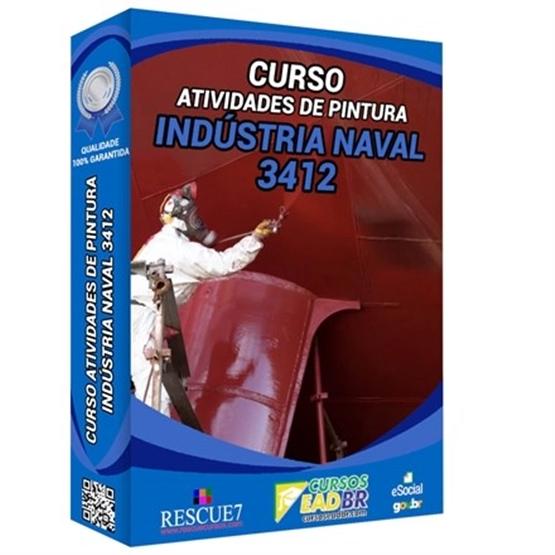 Atividades Pintura Indústria Naval | 3412 | eSocial 30 | Treinamento | EAD | 38048
